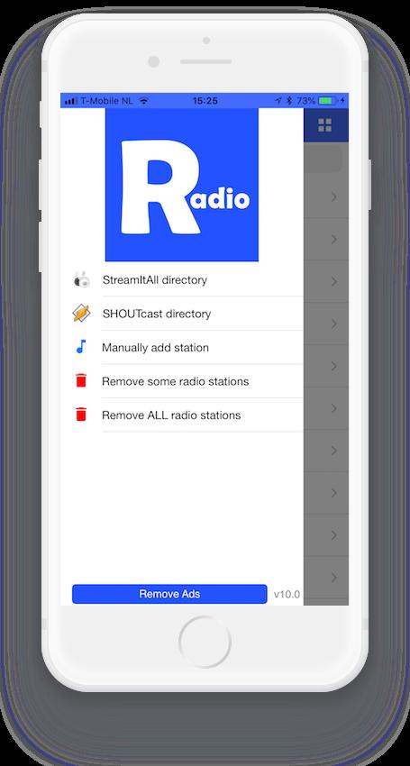 StreamItAll Radio streams over 50000 radio stations
